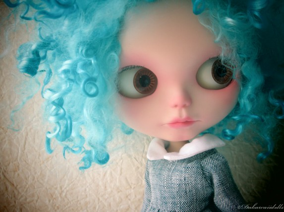 "One Customized OOAK Blythe Doll "" Bubbles"" on Etsy"